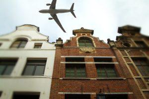Vliegtuig volgen Brussel