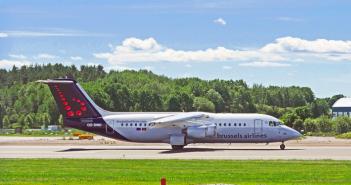 Brussels Airlines vliegtuig volgen