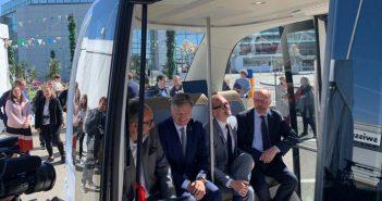 Brussels Airport zelfrijdende bus