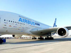 Airbus vliegtuig volgen