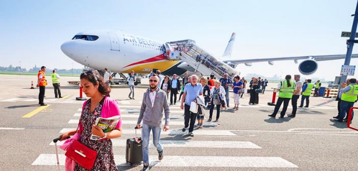 Air Belgium Vliegtuig Volgen
