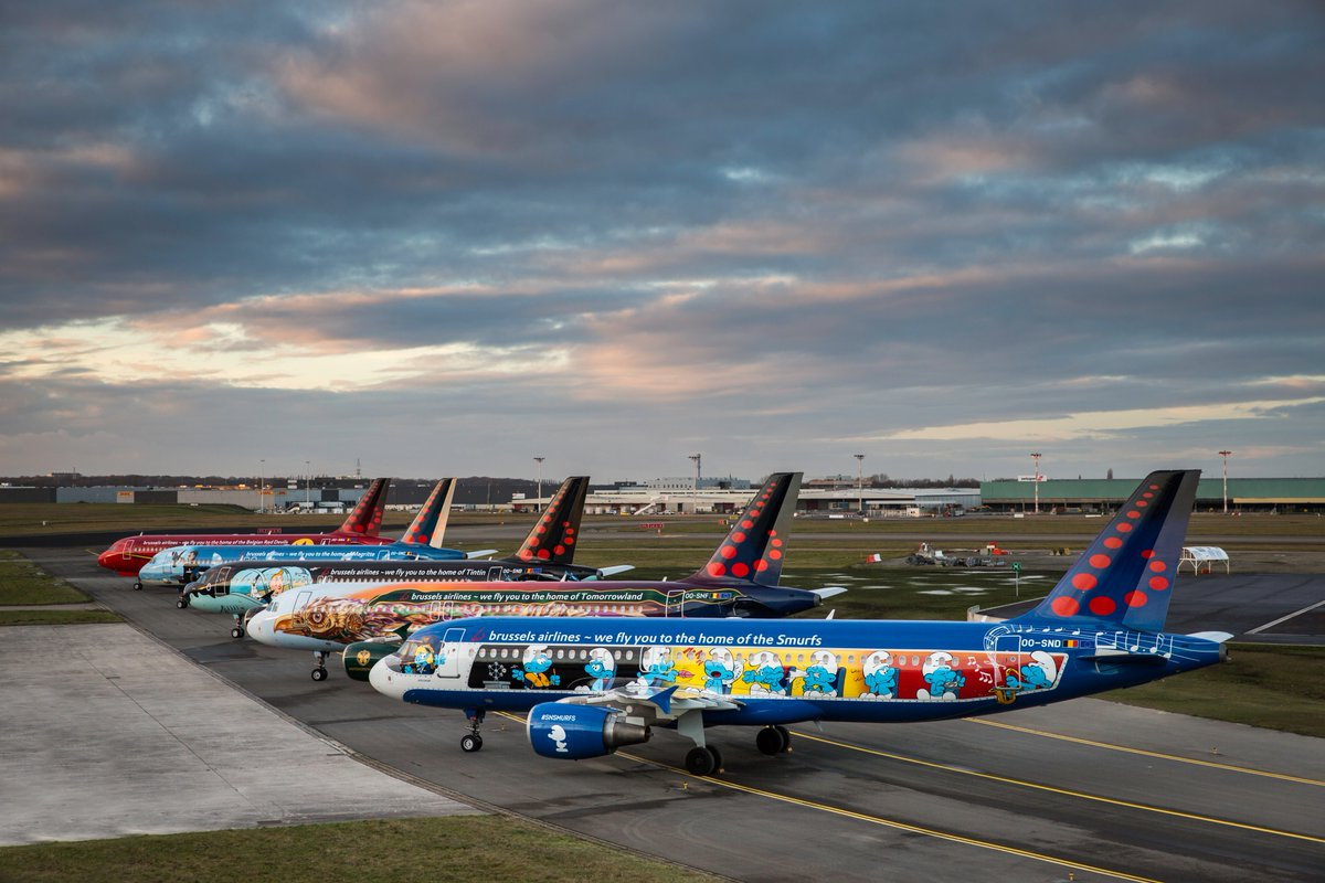 Belgian Icons - Brussels Airlines
