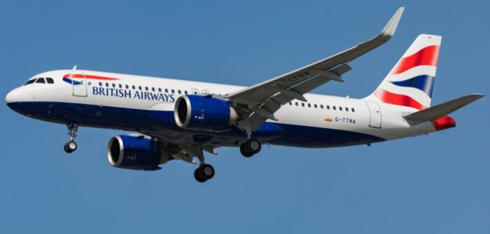 British Airways Airbus A320 NEO